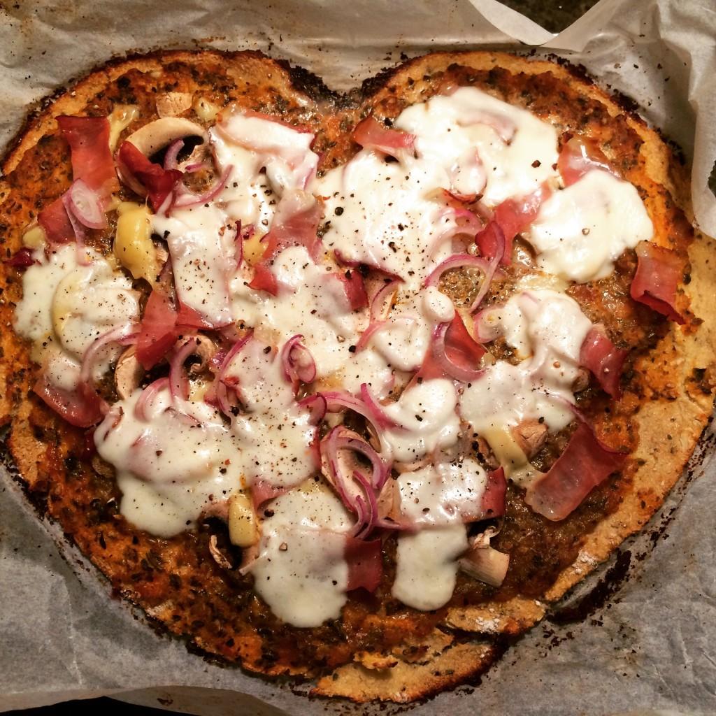 bloemkoolpizza recept