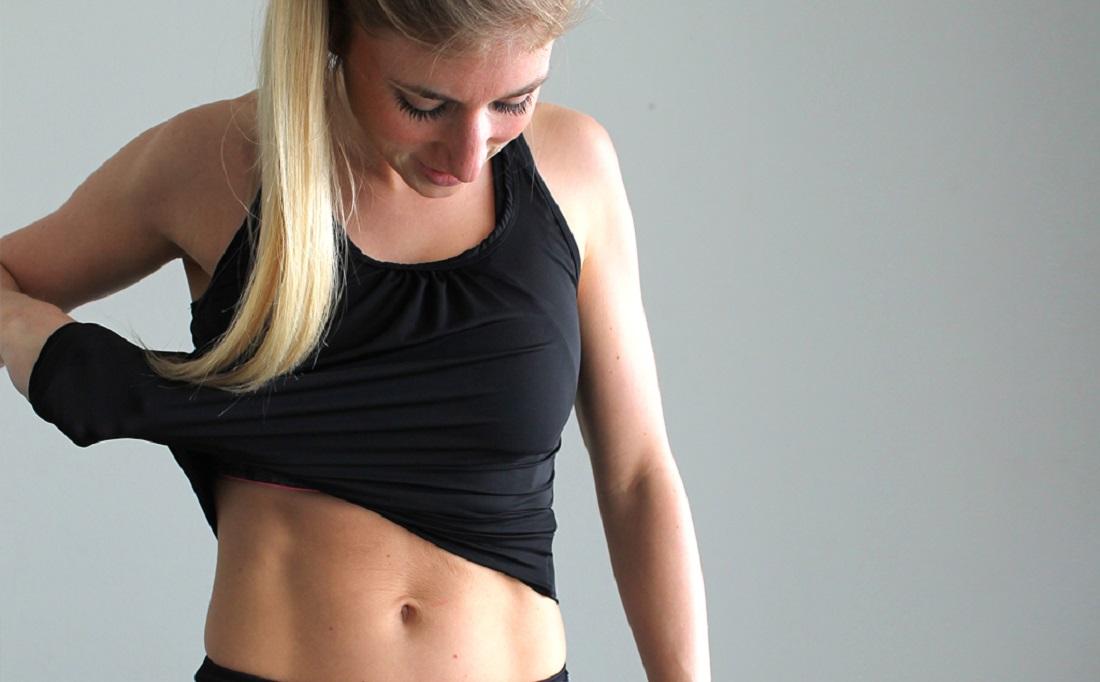 strakker lichaam zonder sporten