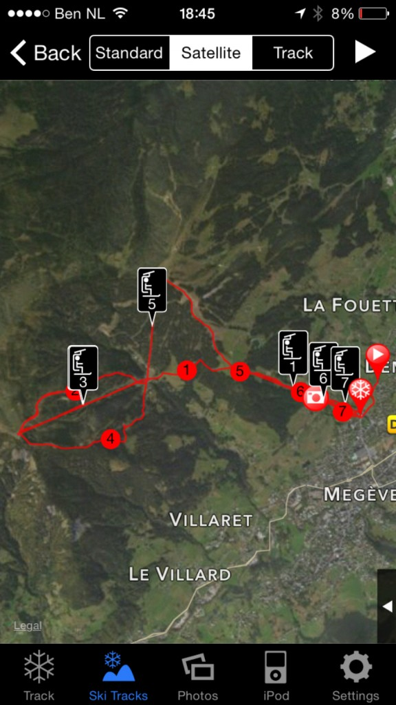 ski track app