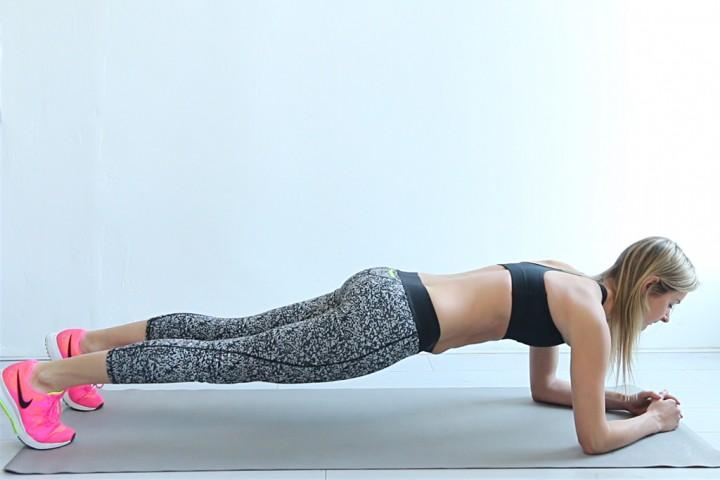 plank oefening