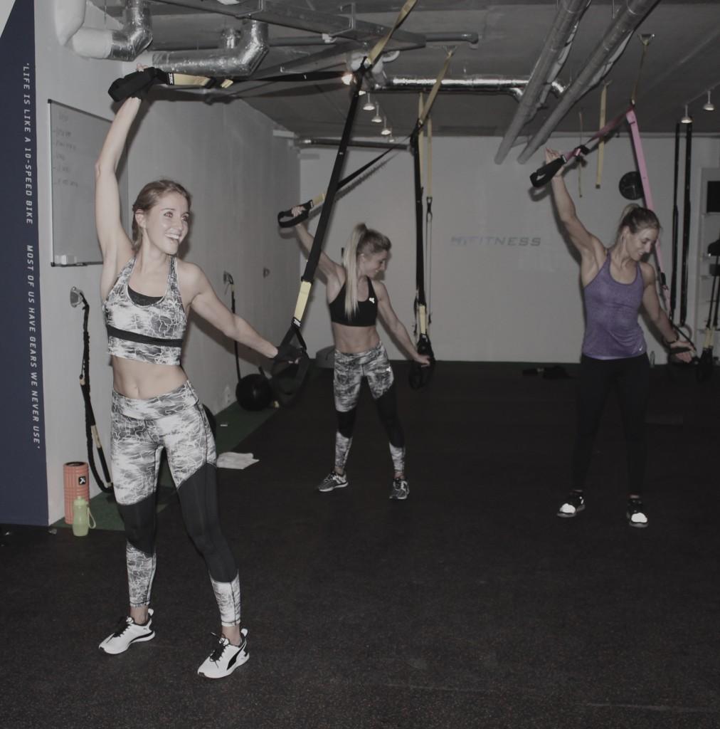 Stretch TRX suspension