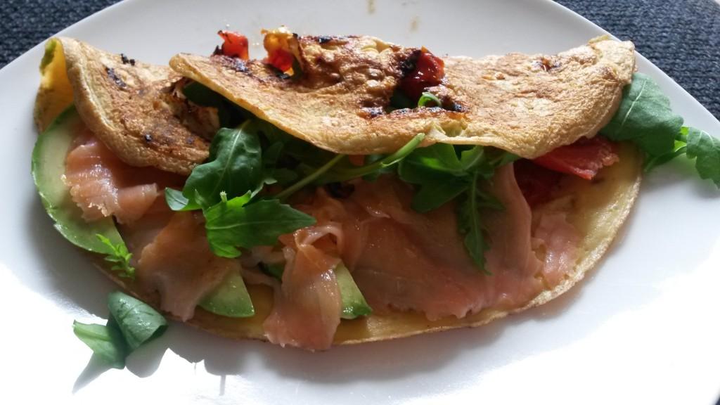 omega-3 omelet