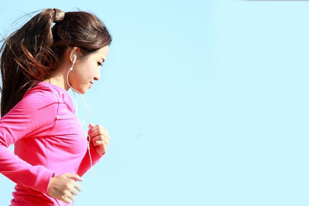 sneller hardlopen door muziek