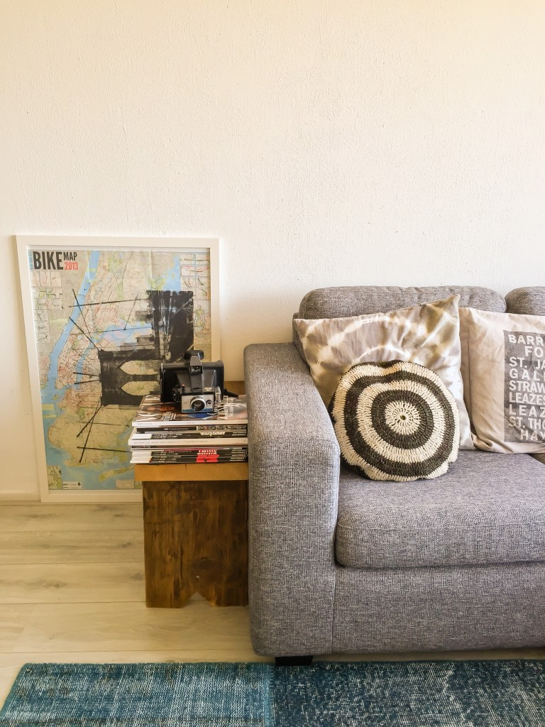 couch, at home, styling, brooklyn art