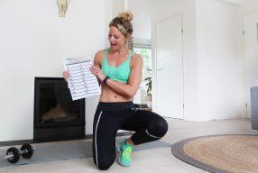 Fitgirl Bikini Challenge: Oefeningen week 3 & 4