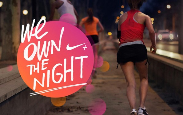 nike ladies run we own the night