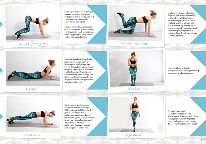 hiit workout thuis