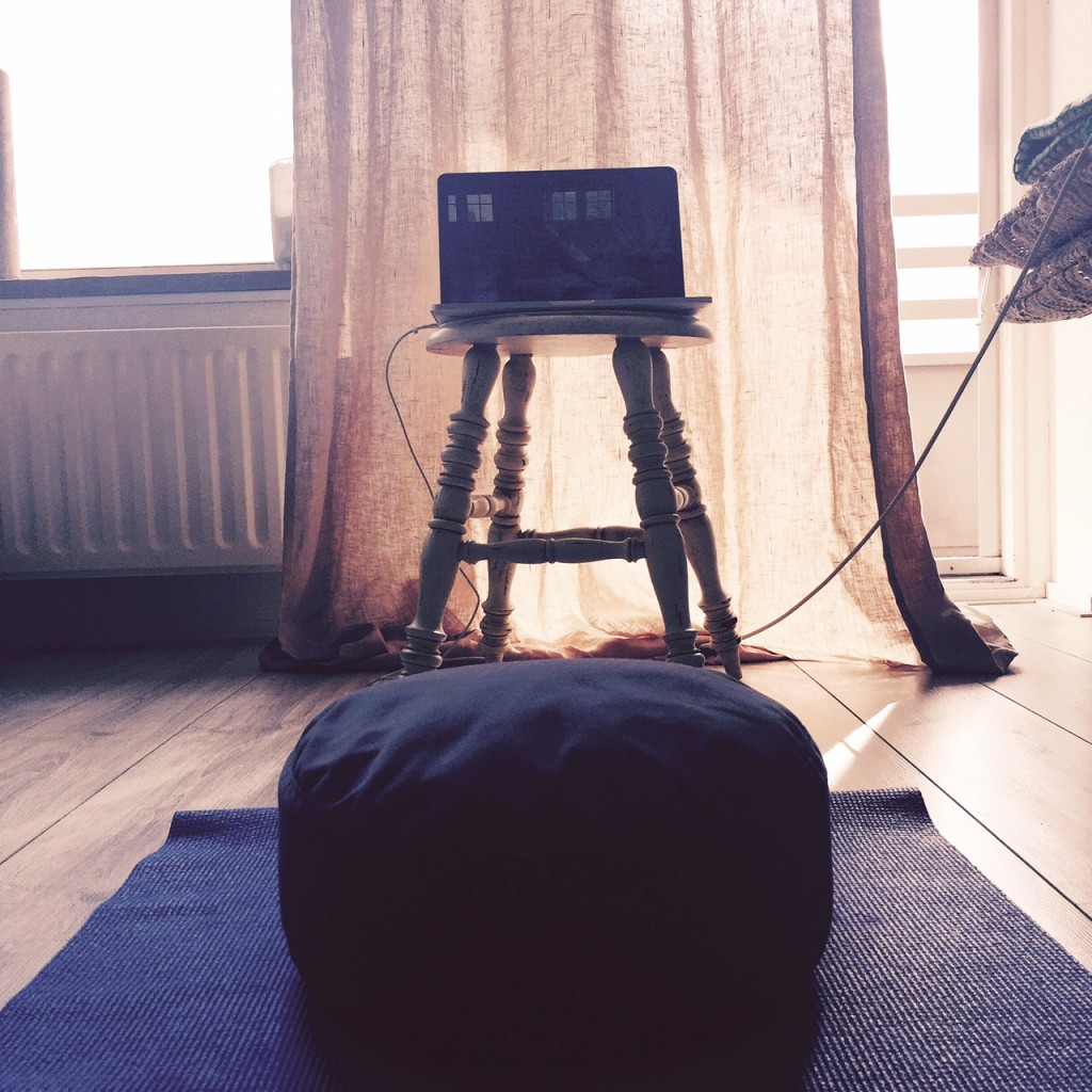 morning gloy, yoga, practice, at home, the house of yoga