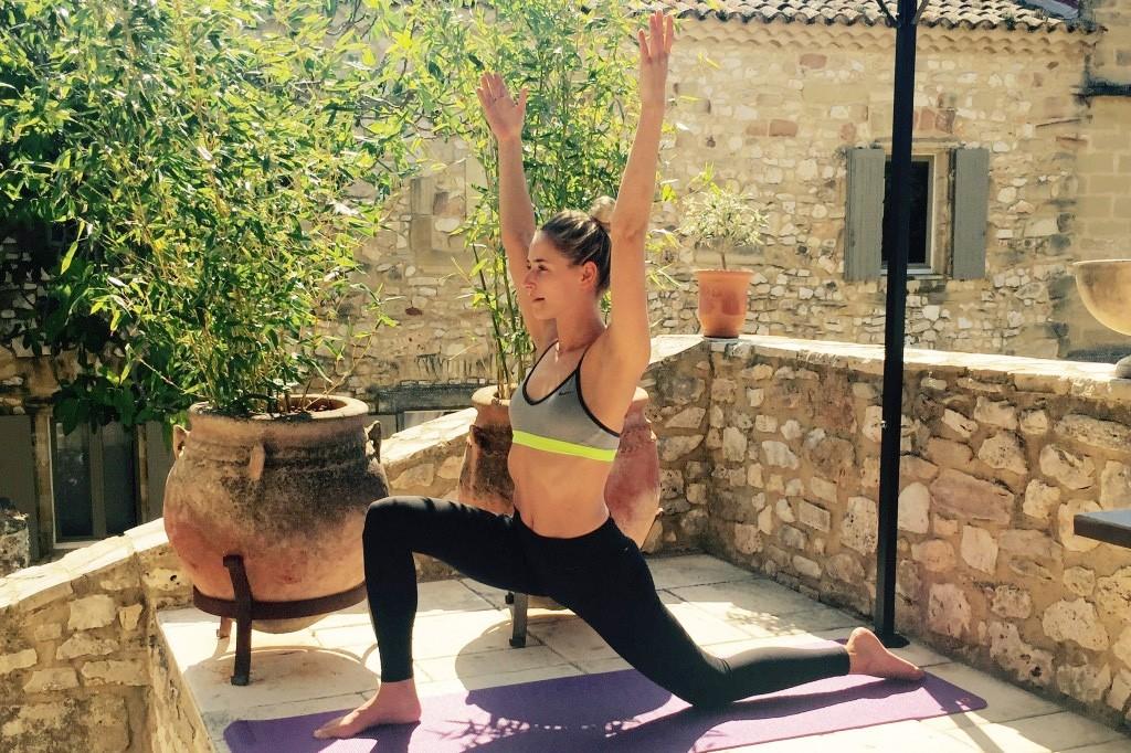 yoga oefeningen voor hardlopers