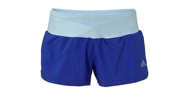 adidas short blauw