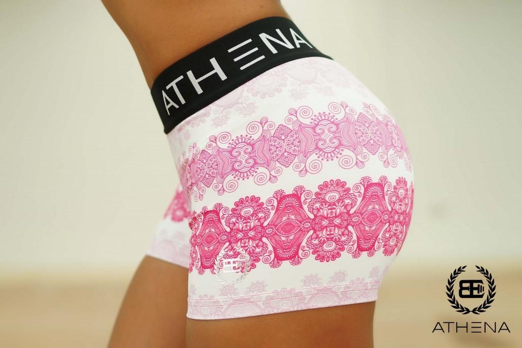 athena short roze