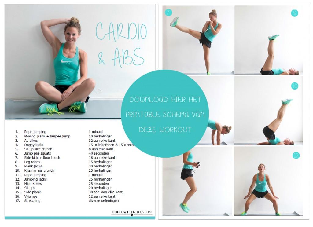 springtouw workout