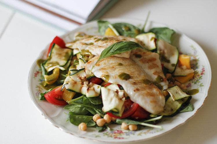 SLA salade compleet