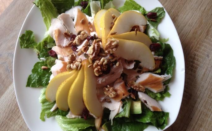 herfstige salade
