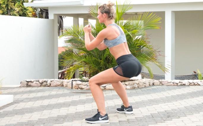hoe doe je een squat