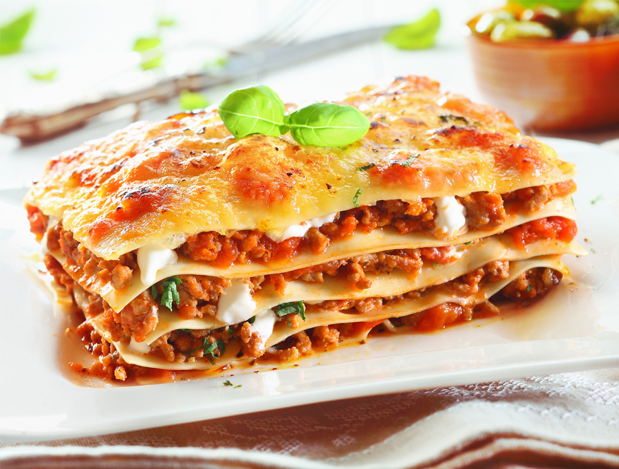 healthy lasagne