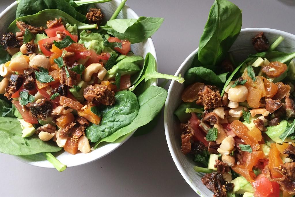 quinoa spinazie