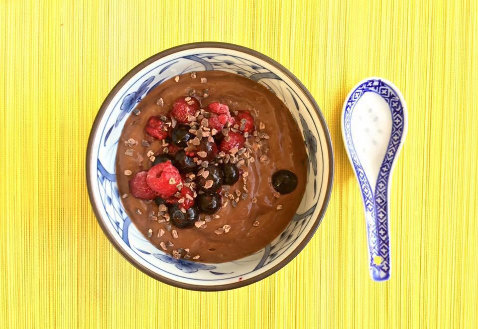 comfort beauty chocolade smoothie