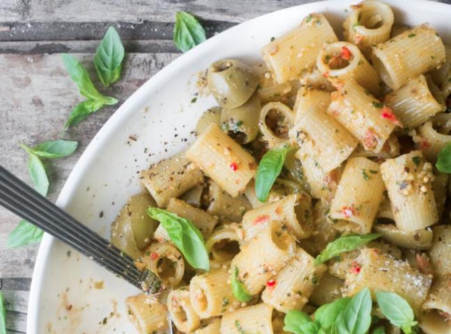 pasta gerechten gezond