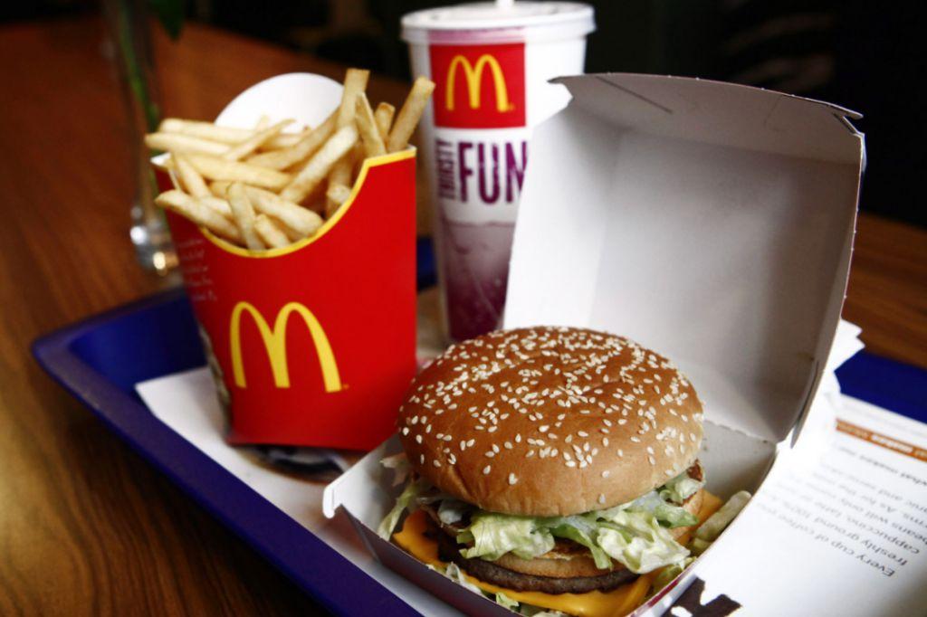 aantal calorieën mcdonald's
