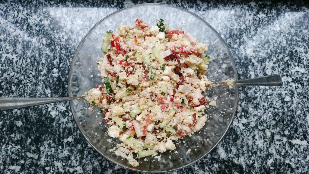 bloemkool couscous salade