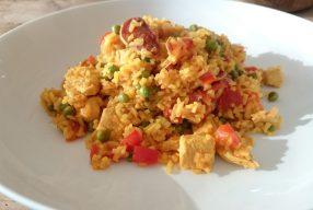 Recept: Heerlijke paella zonder vis