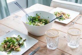 Recept : Frisse zomer salade met peer