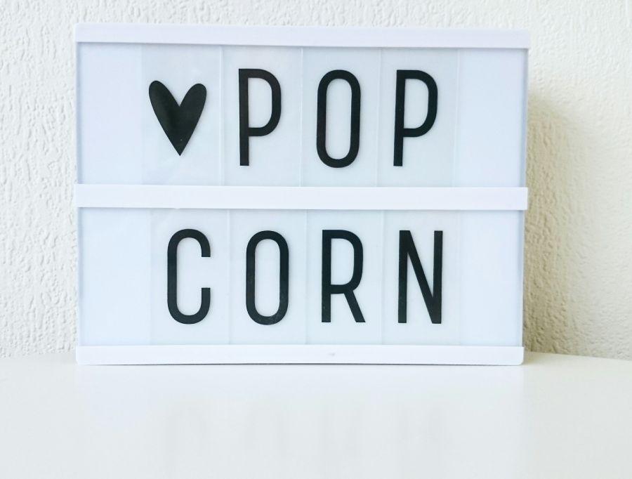 recept popcorn