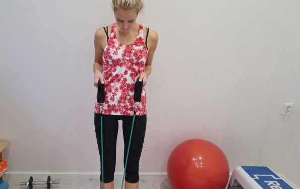 trainen met elastieken