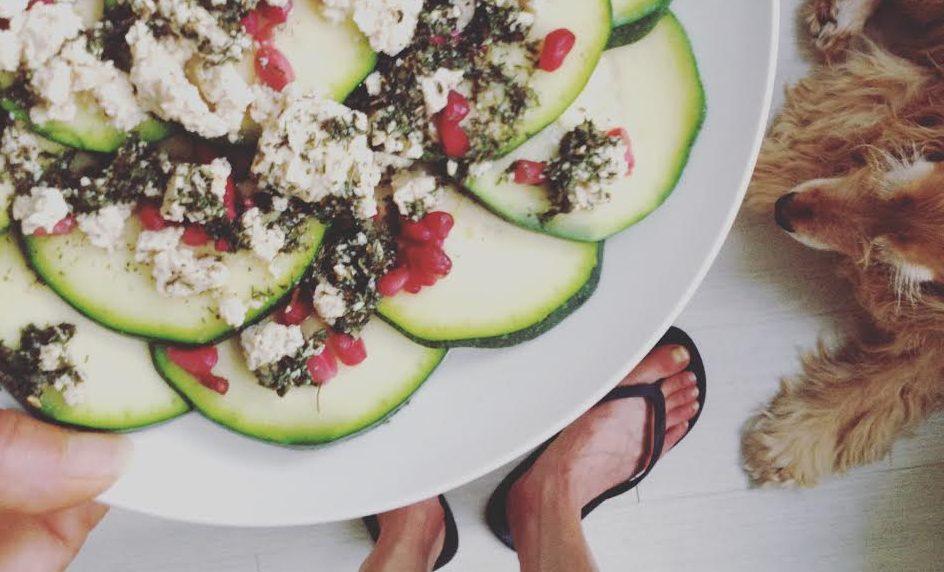 Healthy food - fit girl Lianne