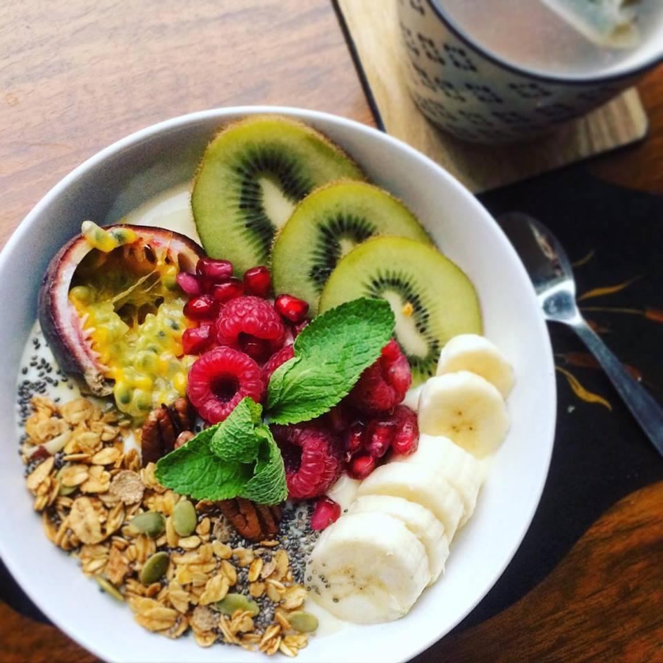 cereals met yoghurt en fruit 3