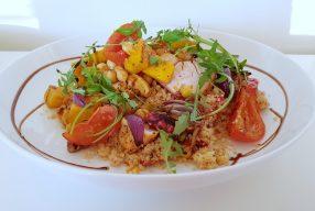 Couscous salade met ovengroenten