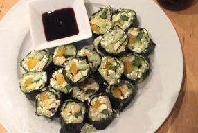 Experiment: sushi zonder rijst, lukt dat of niet?