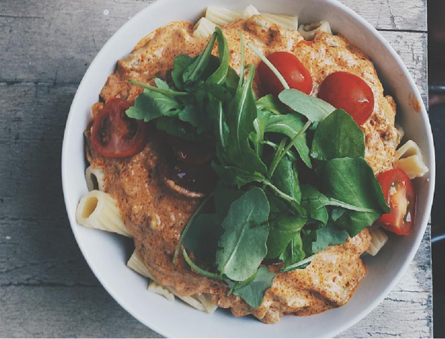 vegetarische pastagerechten