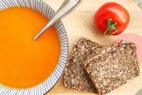 Gerookte tomatensoep recept