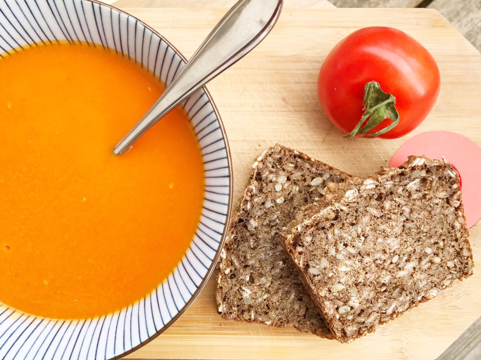 Gerookte tomatensoep