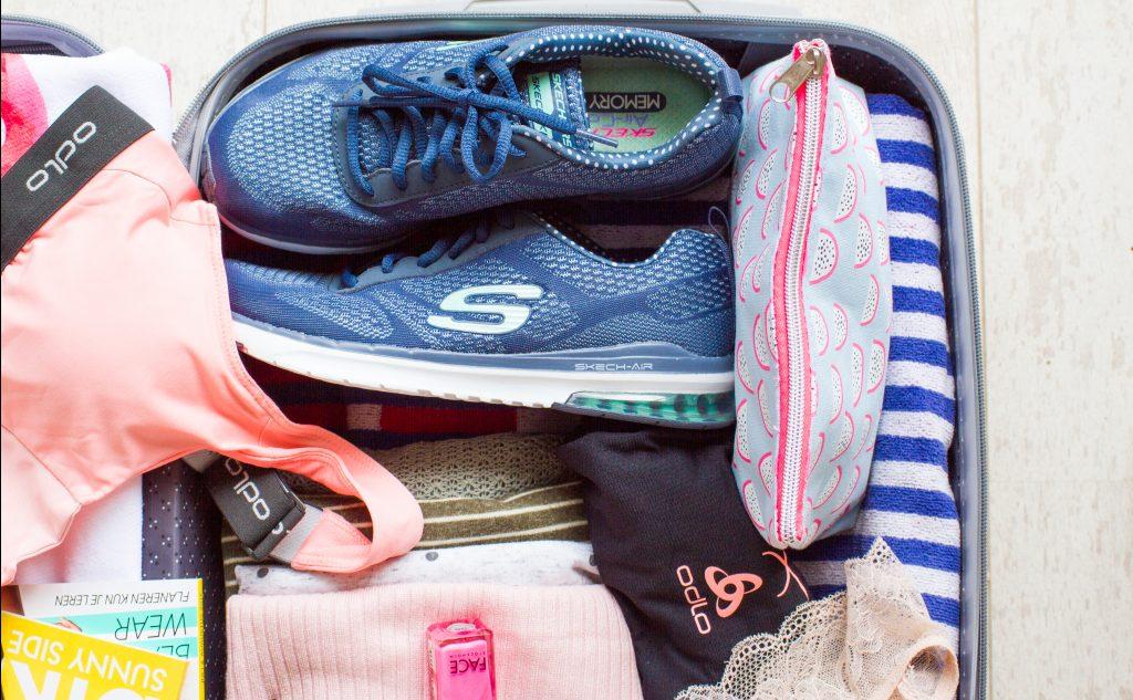 Een kijkje in de koffer van een fitgirl
