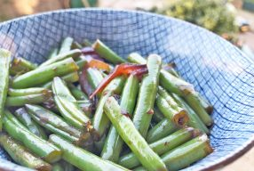 Pittige sperziebonen – sambalboontjes