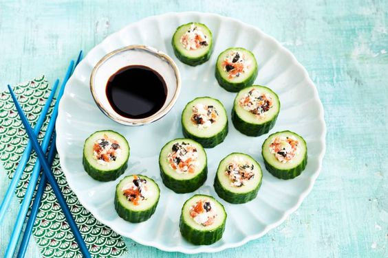 cottage cheese sushi