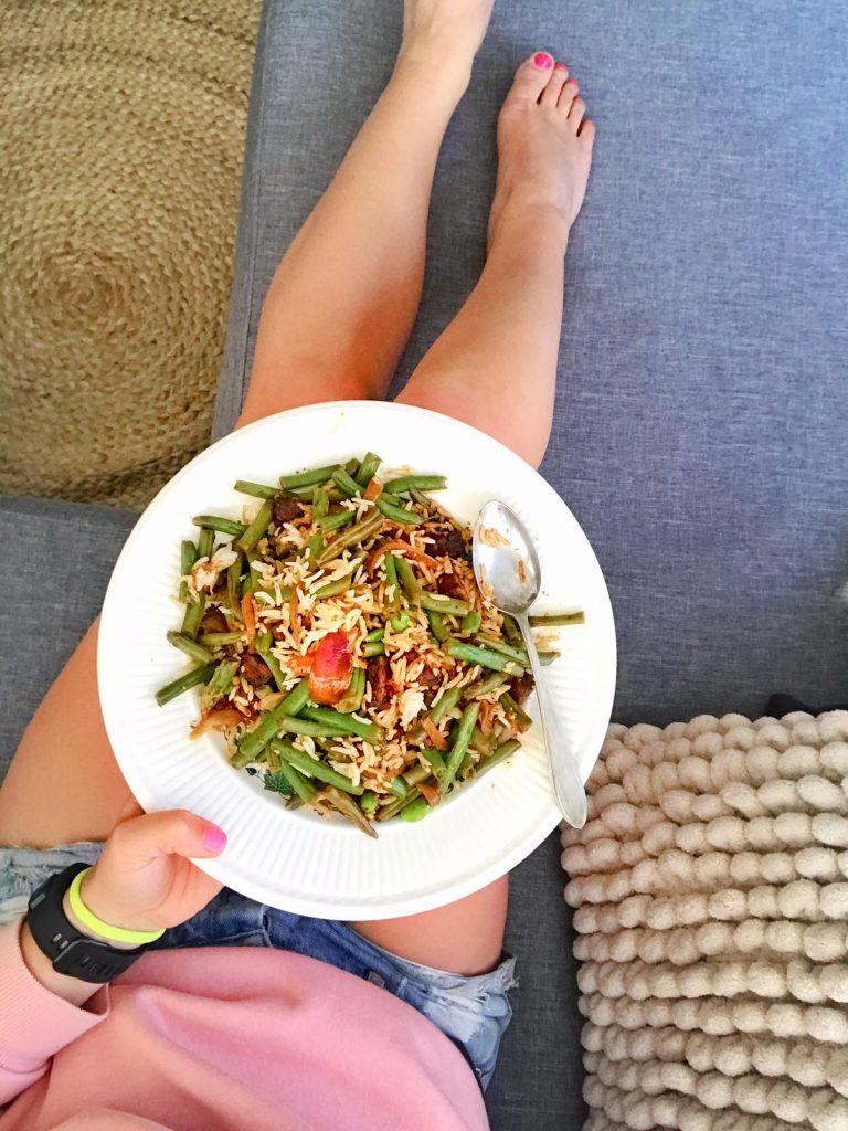Vegan eet- en sportdagboek