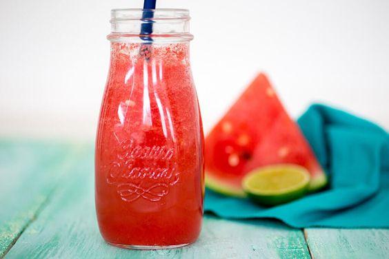 watermeloen recepten limonade