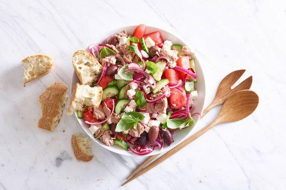 watermeloen recepten salade