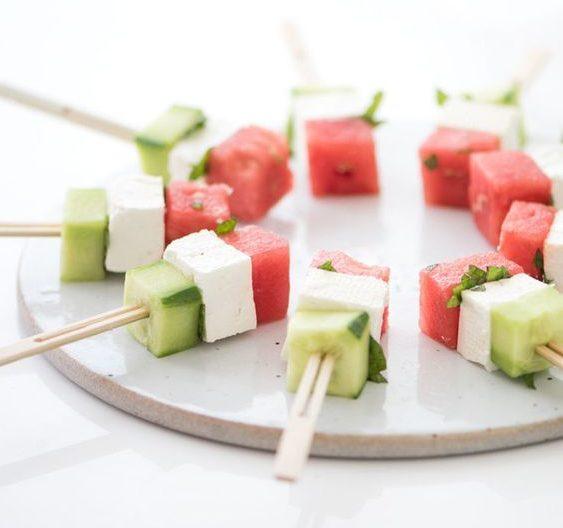 watermeloen recepten snack