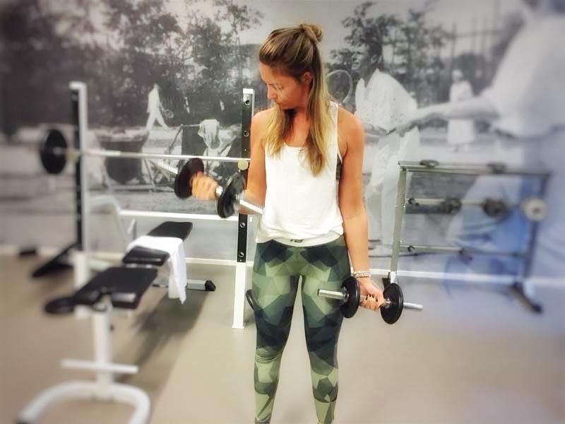 Eet- en sportdagboek - Training