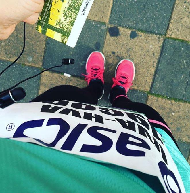 hardloopwedstrijd voorbereiden
