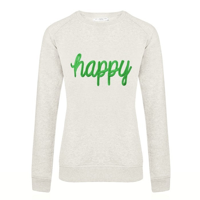 sweater happy