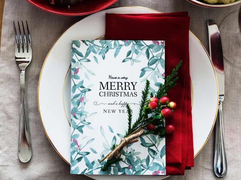 7 tips voor een stressvrij Kerstdiner - diner