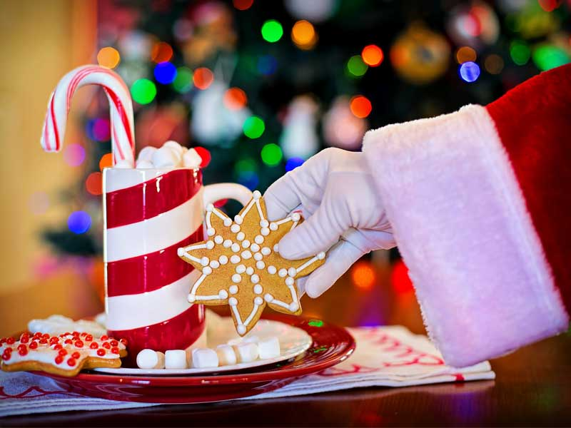 op gewicht blijven in december -drankje