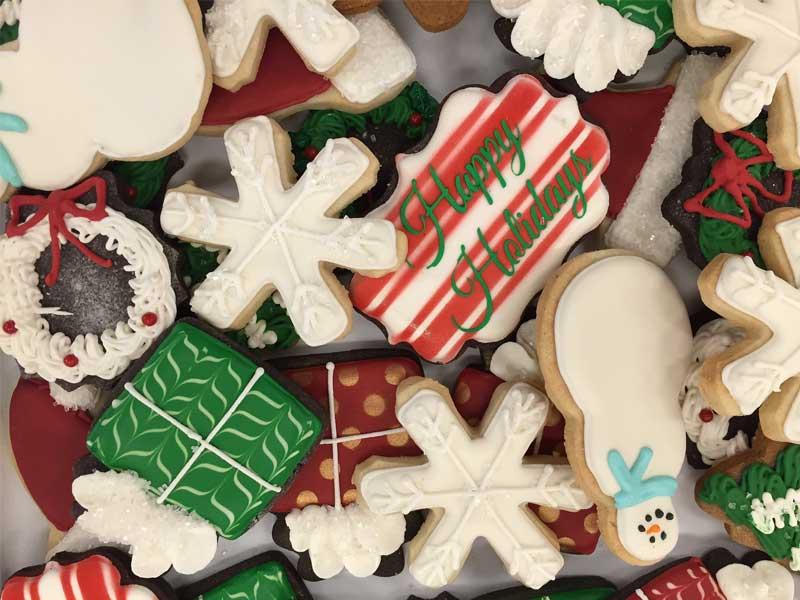 op gewicht blijven in december -koekjes