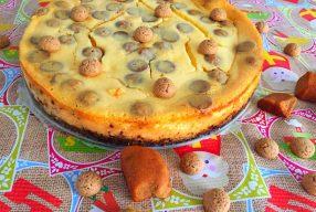 Sinterklaasrecept: Witte chocolade karamel-zeezout cheesecake met kruidnoten